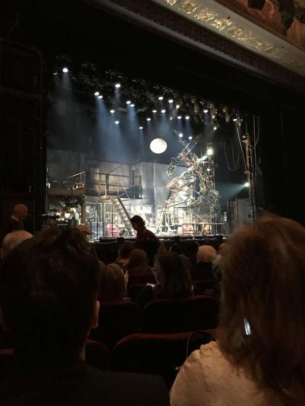 Hollywood Pantages Theatre, section: Orchestra LC, row: J, seat: 311