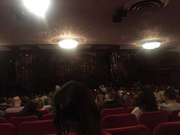 Broadway Theatre - 53rd Street, section: Orchestra, row: X, seat: 14