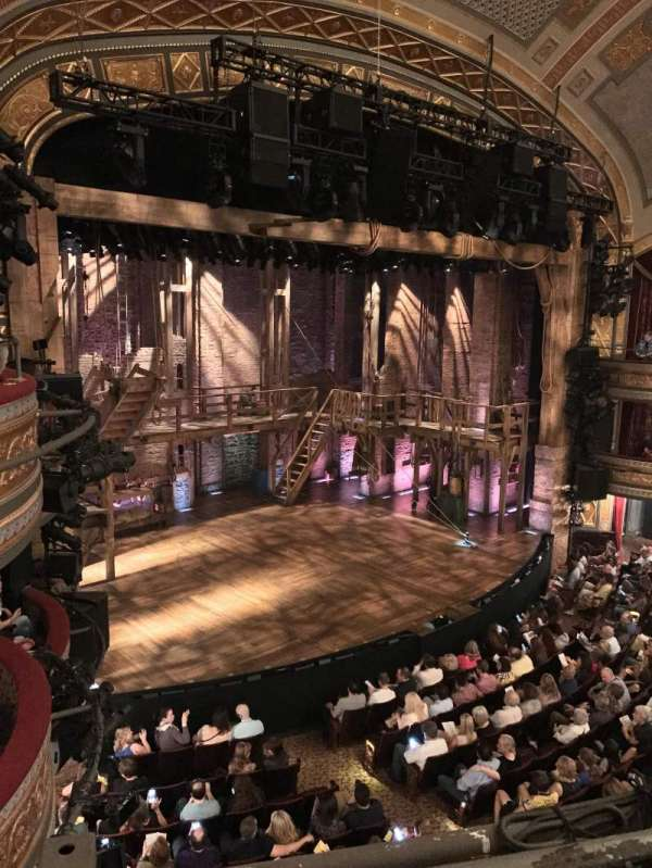 Richard Rodgers Theatre, section: Front Mezzanine L, row: A, seat: 25