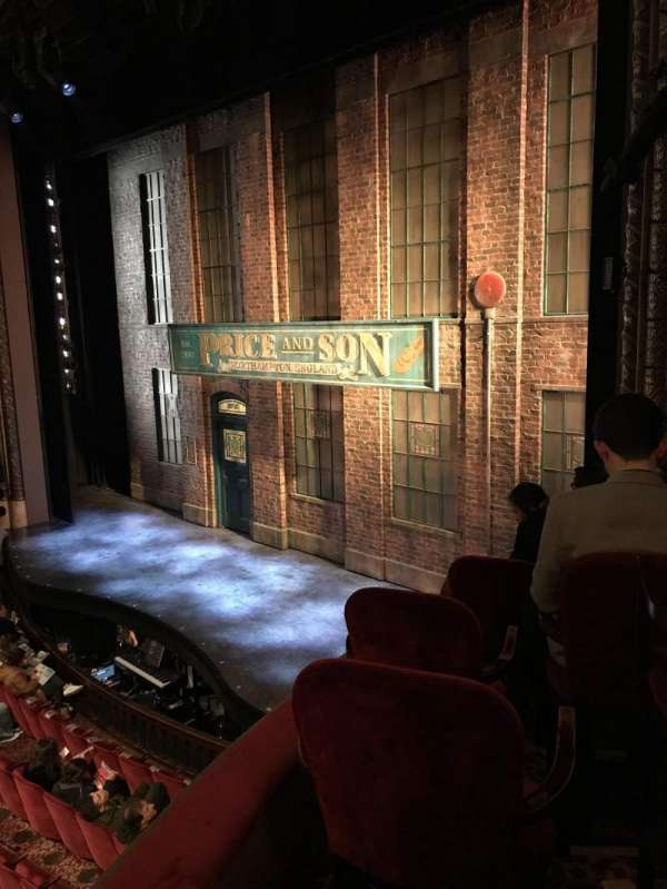 Al Hirschfeld Theatre, section: Right box, row: F, seat: 13