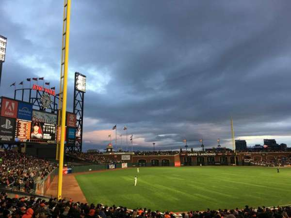 Oracle Park, section: 129, row: 29, seat: 7