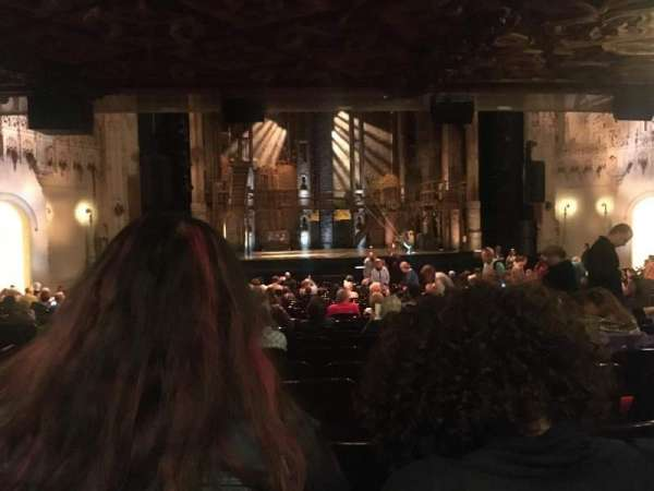 Orpheum Theatre (San Francisco), section: Orchestra L, row: BB, seat: 127