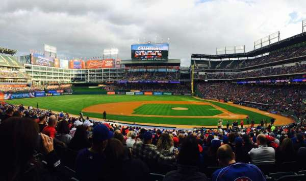 Globe Life Park in Arlington, section: 20, row: 26, seat: 13