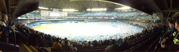 Rogers Centre, section: 232R, row: 11, seat: 2