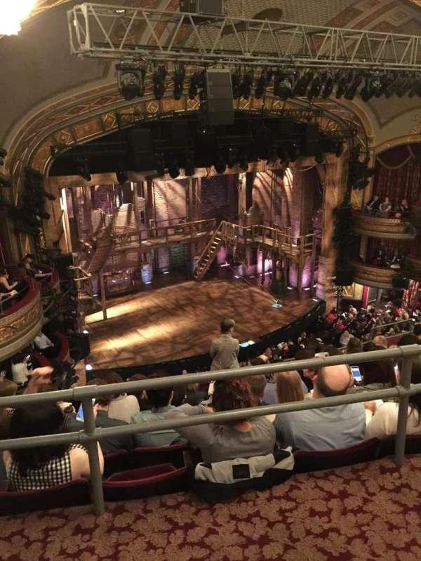 Richard Rodgers Theatre, section: Rear Mezzanine L, row: G, seat: 27