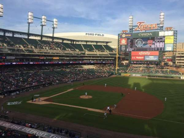 Comerica Park, section: 219, row: A, seat: 5