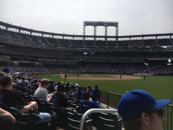 Citi Field, section: 105, row: 14, seat: 2