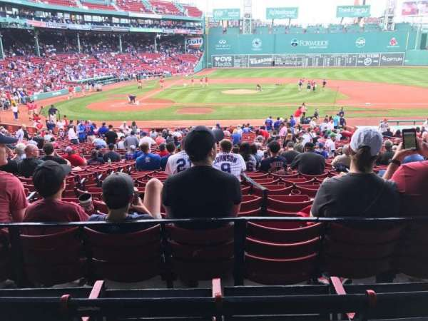 Fenway Park, section: Grandstand 16, row: 3, seat: 16
