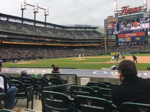 Comerica Park, section: 120, row: 12, seat: 5