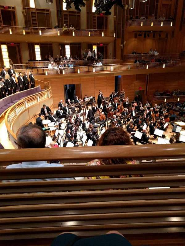 The Music Center at Strathmore, section: Promenade Front Left, row: B, seat: 9