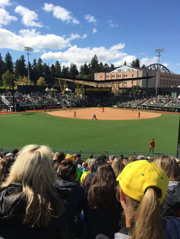 Jane Sanders Stadium, section: General admission outfield