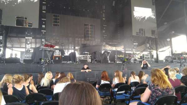 Darien Lake Performing Arts Center Section 102 Row 8 Seat