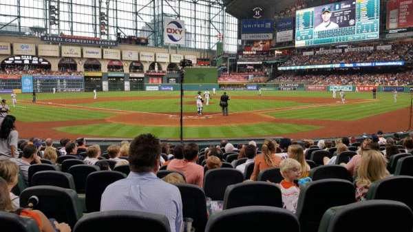 Minute Maid Park, section: 119, row: 12, seat: 5