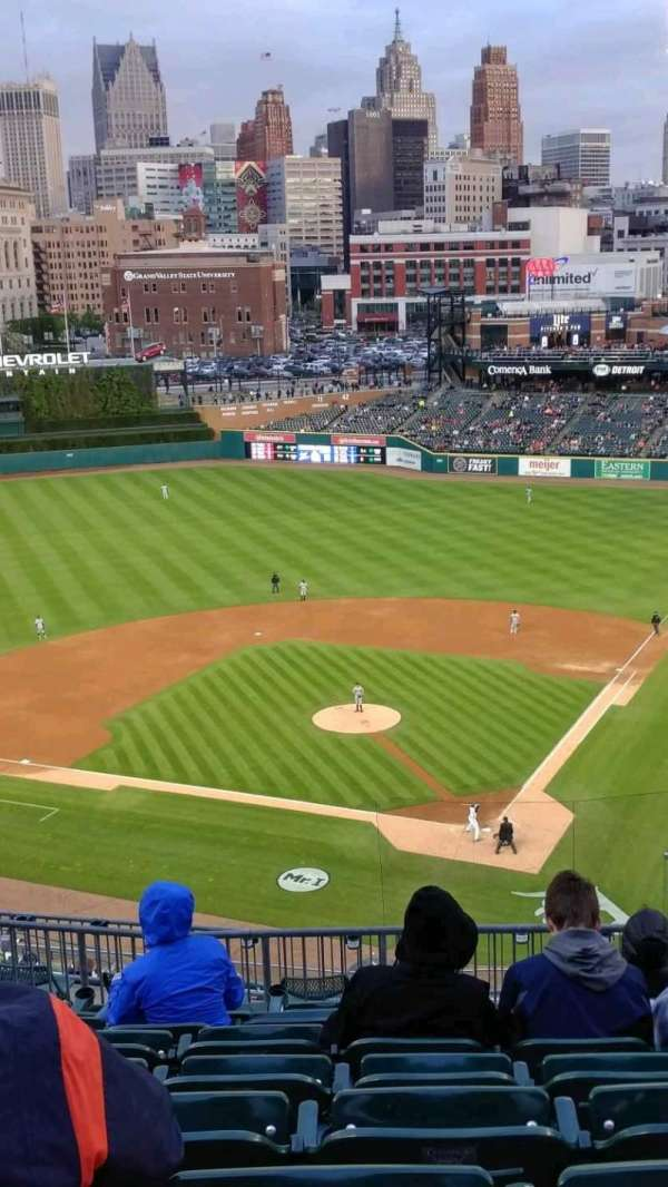 Comerica Park, section: 330, row: 7, seat: 7