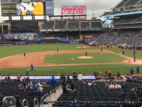 Citi Field, section: 121, row: 30, seat: 12