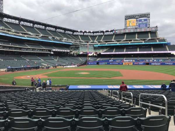 Citi Field, section: 114, row: 20, seat: 17