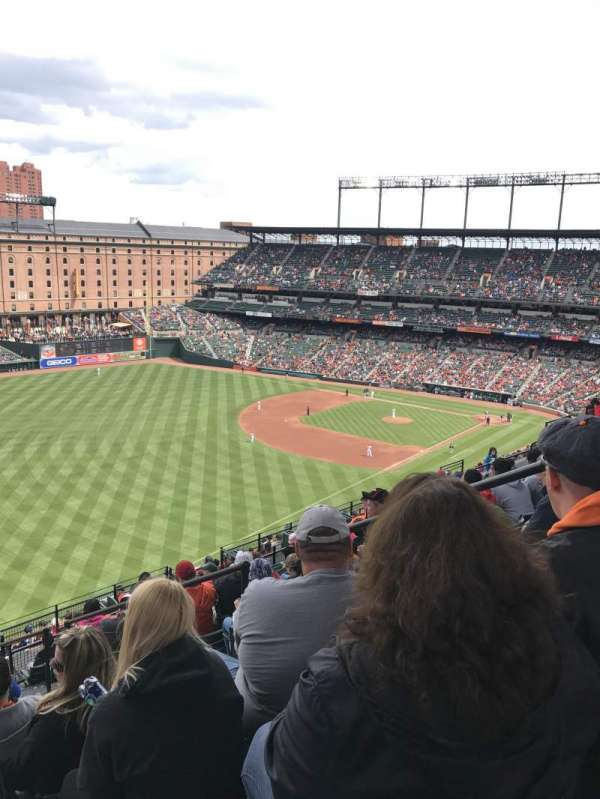 Oriole Park at Camden Yards, section: 372, row: 20, seat: 4