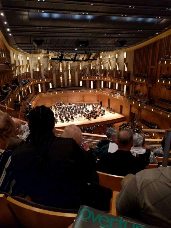 The Music Center at Strathmore, section: Grand Tier Left, row: E, seat: 3