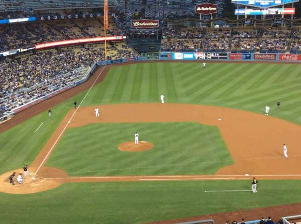 Dodger Stadium, section: 10RS, row: K, seat: 18