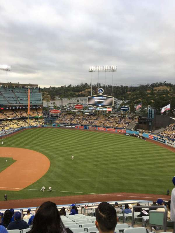 Dodger stadium, section: 28RS, row: U, seat: 19