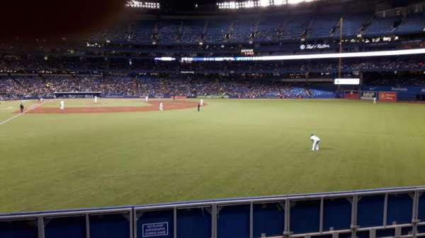 Rogers Centre, section: 108R, row: 1, seat: 14