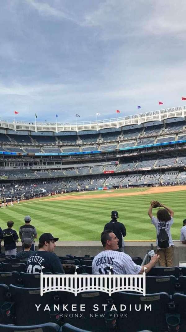 Yankee Stadium, section: 104, row: 5, seat: 14