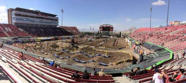 Sam Boyd Stadium, section: 115, row: 19, seat: 5