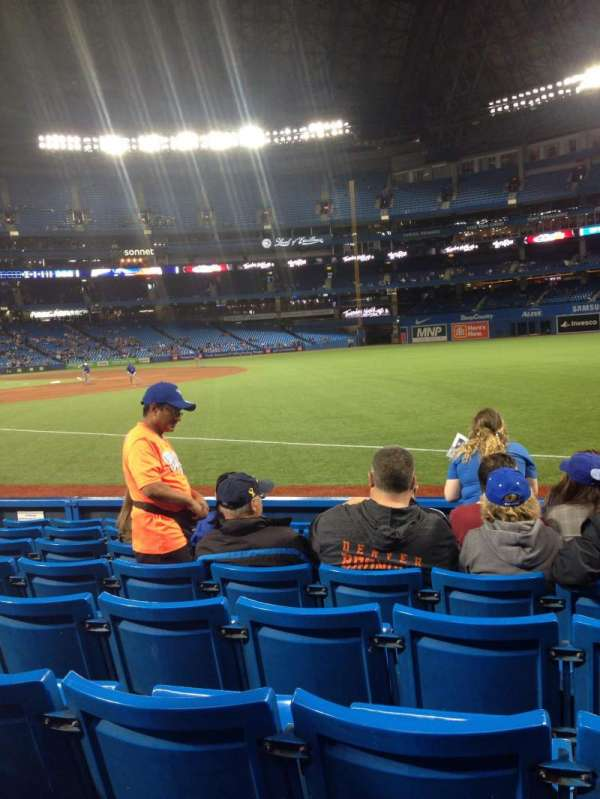 Rogers Centre, section: 113AL, row: 5