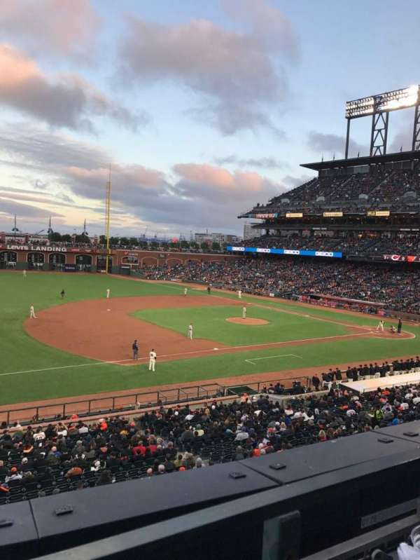 Oracle Park, section: 226, row: A, seat: 2