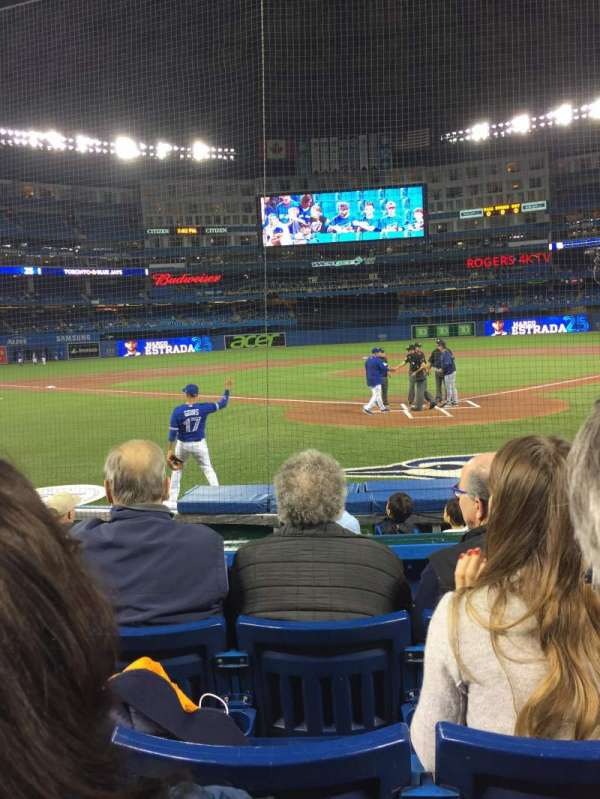 Rogers Centre, section: 122L, row: 8, seat: 104