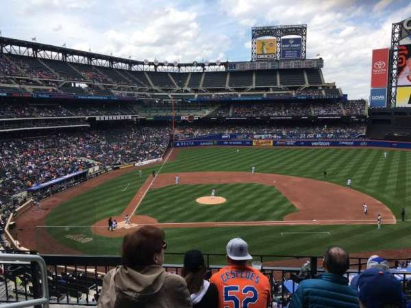 Citi Field, section: 313, row: 4, seat: 2