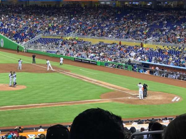 Marlins Park, section: 21, row: 25, seat: 5