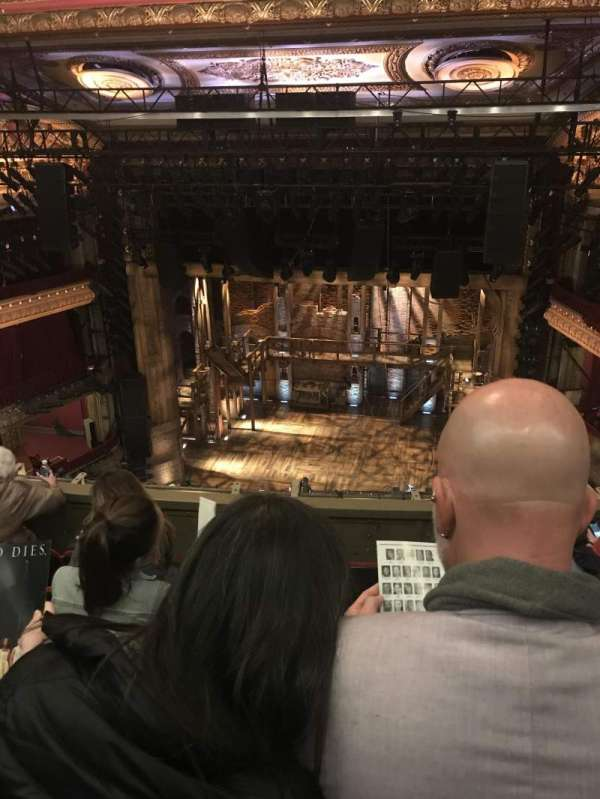 CIBC Theatre, section: Balcony RC, row: C, seat: 414