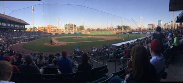 Dickey-Stephens Park, section: 208, row: G, seat: 4