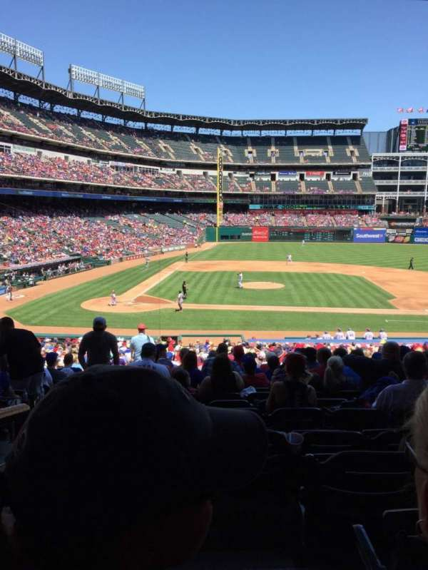 Globe Life Park in Arlington, section: 132, row: 33, seat: 14
