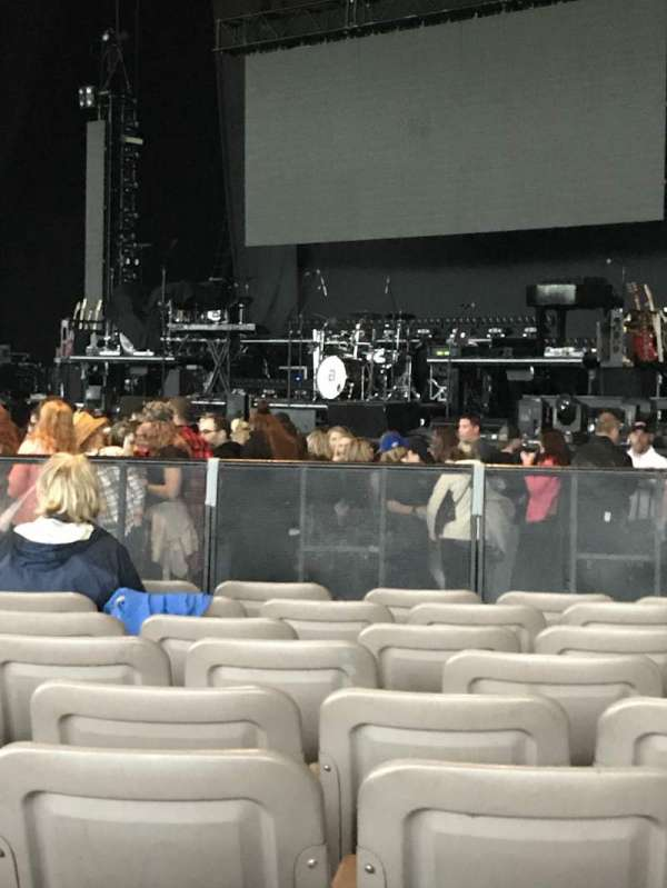 Xfinity Theatre, section: 100, row: P, seat: 112