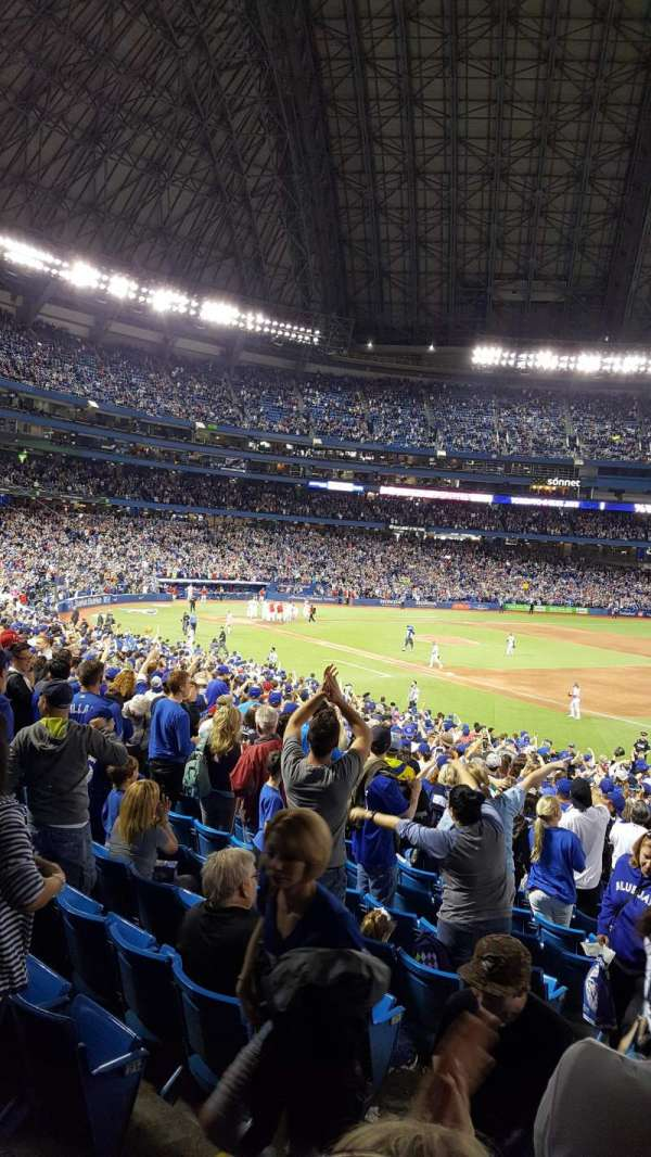 Rogers Centre, section: 113ar, row: 34, seat: 1