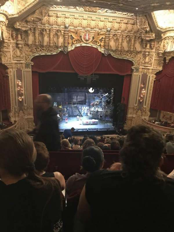 James M. Nederlander Theatre, section: Balcony LC, row: O
