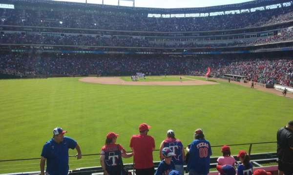 Globe Life Park in Arlington, section: 4, row: 8, seat: 9