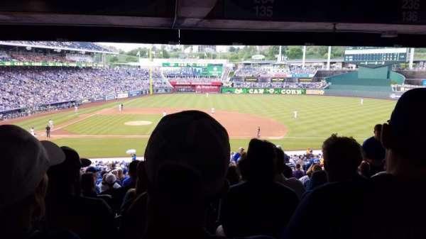 Kauffman Stadium, section: 234, row: TT, seat: 18
