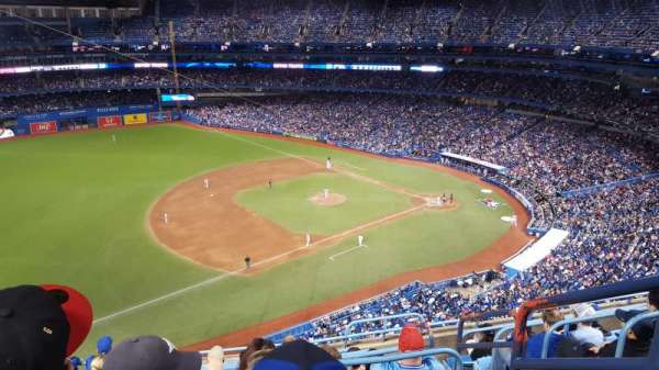 Rogers Centre, section: 533L, row: 8, seat: 101