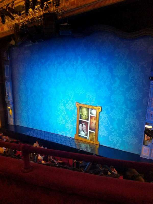 Walter Kerr Theatre, section: mezz rgt, row: b, seat: 14