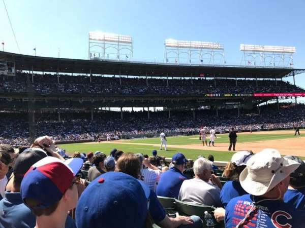Wrigley Field, section: 18, row: 11, seat: 6