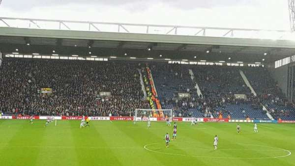 The Hawthorns, section: BRE, row: AA, seat: 165