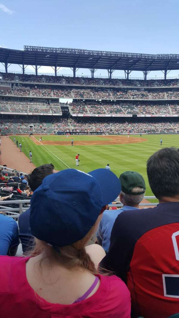 Truist Park, section: 107, row: 3, seat: 13