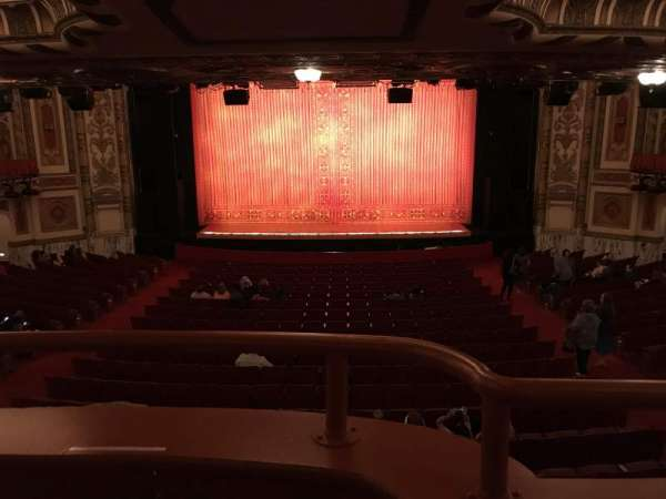 Cadillac Palace Theater, section: Dress Circle C, row: A, seat: 217