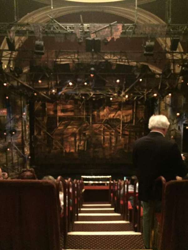 Broadway Theatre - 53rd Street, section: Rear Mezzanine C, row: A, seat: 109