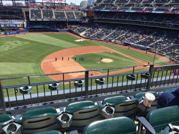 Citi Field, section: 424, row: 3, seat: 5