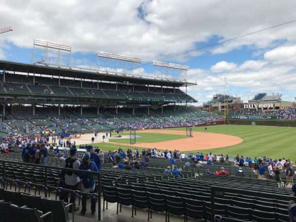 Wrigley Field, section: 228, row: 5, seat: 4