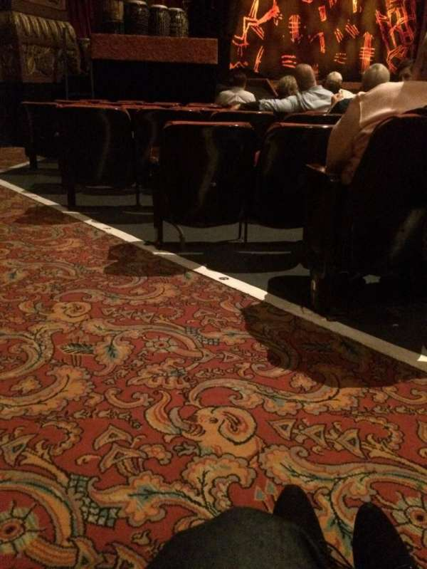 The Fabulous Fox Theatre (St. Louis), section: OR01, row: J, seat: 31-29